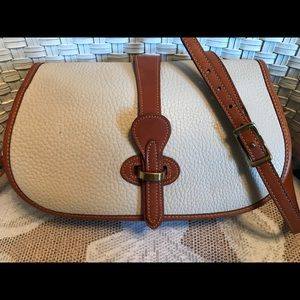 Dooney & Bourke Bone Over and Under Bag